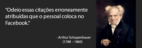 Citação - Schopenhauer