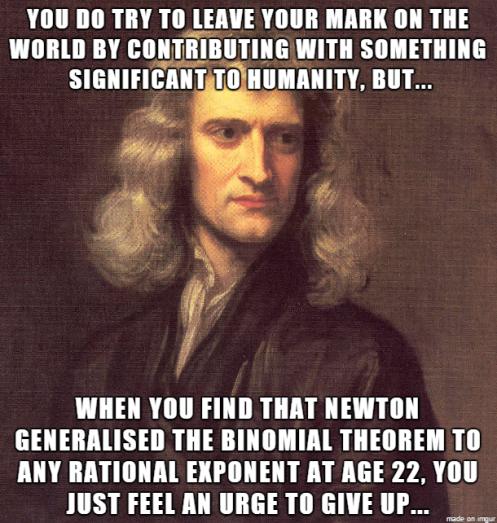 Newton em inglês