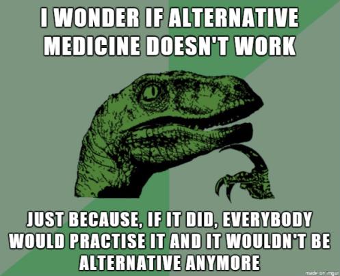 Medicina alternativa em inglês